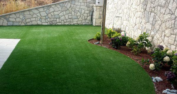 Realizzazione giardino in casa singola
