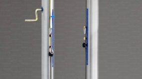 Impianto pallavolo monotubolare all alluminium