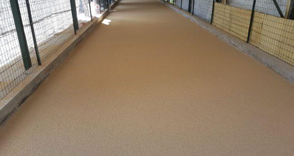 MARCHENO (BS) Rifacimento campi bocce in resina poliuretanica