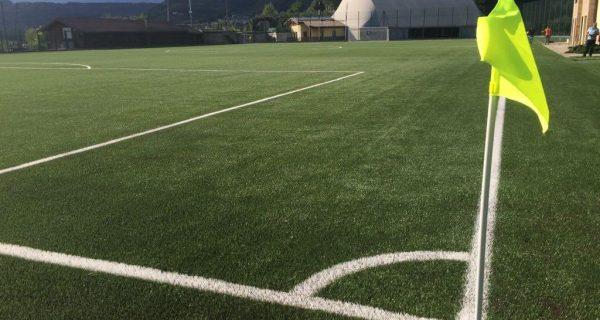 MADRANO-PERGINE (TN) Posa manto in erba sintetica del nuovo campo da calcio