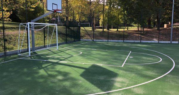 Trento Candriai Rifacimento del campo da pallacanestro presso il Parco Cesana