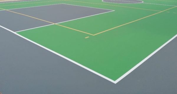 Pellizzano (TN) Nuovo campo multisport sistema TNS Multisport Professional Mapei