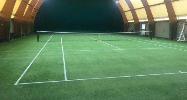 Brentonico (TN) Rifacimento dei tre campi da tennis in erba sintetica