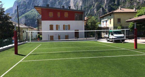 Roverè della Luna (TN) Realizzazione di nuovo campo da pallavolo per la Parrocchia
