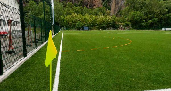 Ora (BZ) - Realizzazione di nuovo campo da calcio in erba artificiale ecogreen