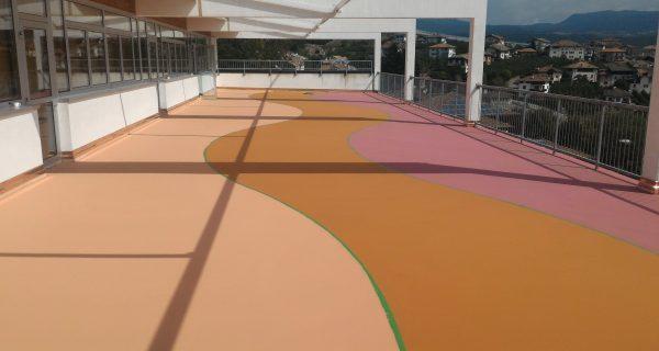 REVO'(TN) Rifacimento pavimentazione presso scuole elementari