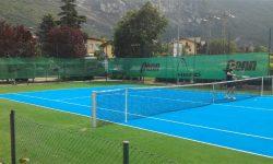 Progetto di risanamento campo da tennis Parco Europa a Calliano