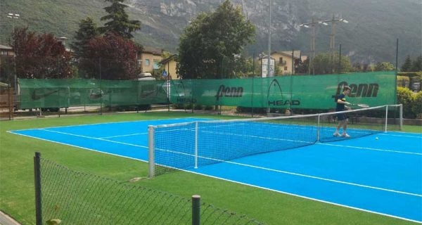 CALLIANO (TN) Rifacimento campo tennis in erba sintetica