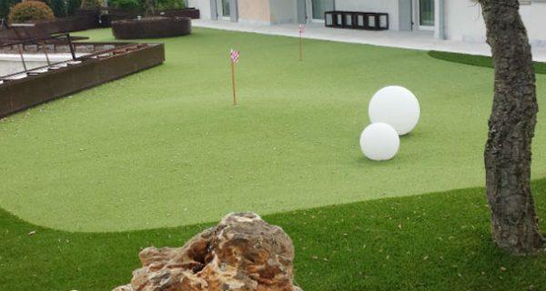 Realizzazione giardino privato