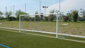 Porte da calcio 6x2 metri in alluminio