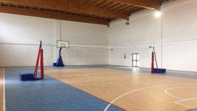 Protezione impianto pallavolo
